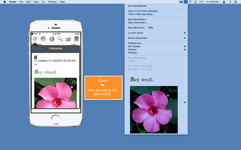 MenuMinder 4.5.1 Mac 破解版 – 菜单栏提醒工具-麦氪派(WaitsUn.com | 爱情守望者)